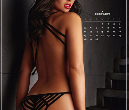 """Российская топ-модель украсила международный календарь журнала """" Playboy"""" на 2017 год"""