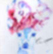 Aquarelle N°12, 15x15 cm (A VENDRE)