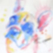 Aquarelle N°05, 15x15 cm (A VENDRE)