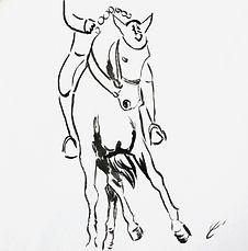 Esquisse n°10, 15 x 15 cm (A VENDRE)