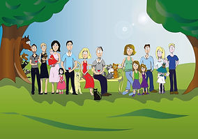 Comic's - Portrait de famille