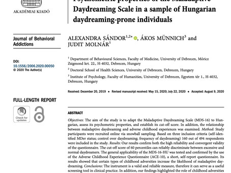 More international validation for the construct of maladaptive daydreaming and its measure