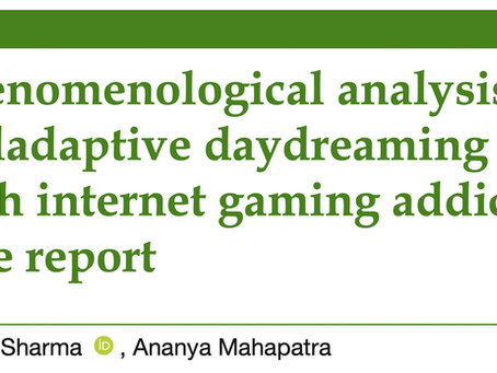 Is there a relationship between MD and a gaming disorder or early attachment?