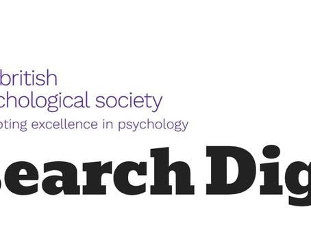 British Psychological Society interviews ICMDR scholar
