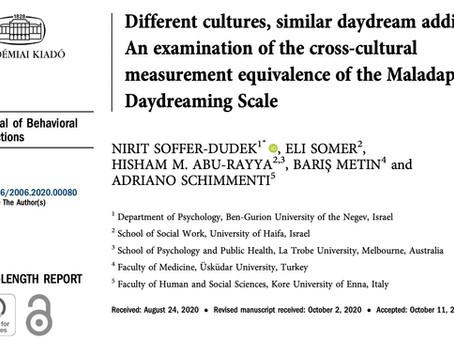 Different cultures, similar daydream addiction?