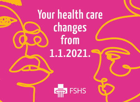 Student healthcare services for students inhigher education starting 1 January 2021