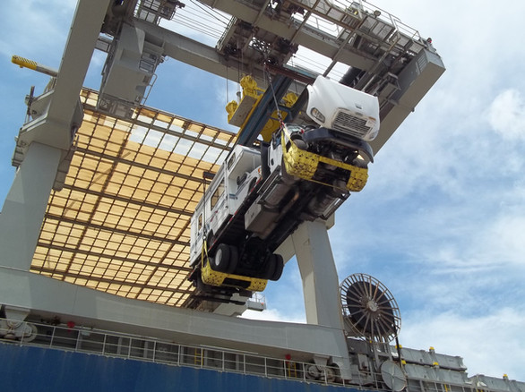Project Cargo to West Coast of South America