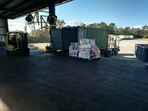 SISL Container Stuffing Operation