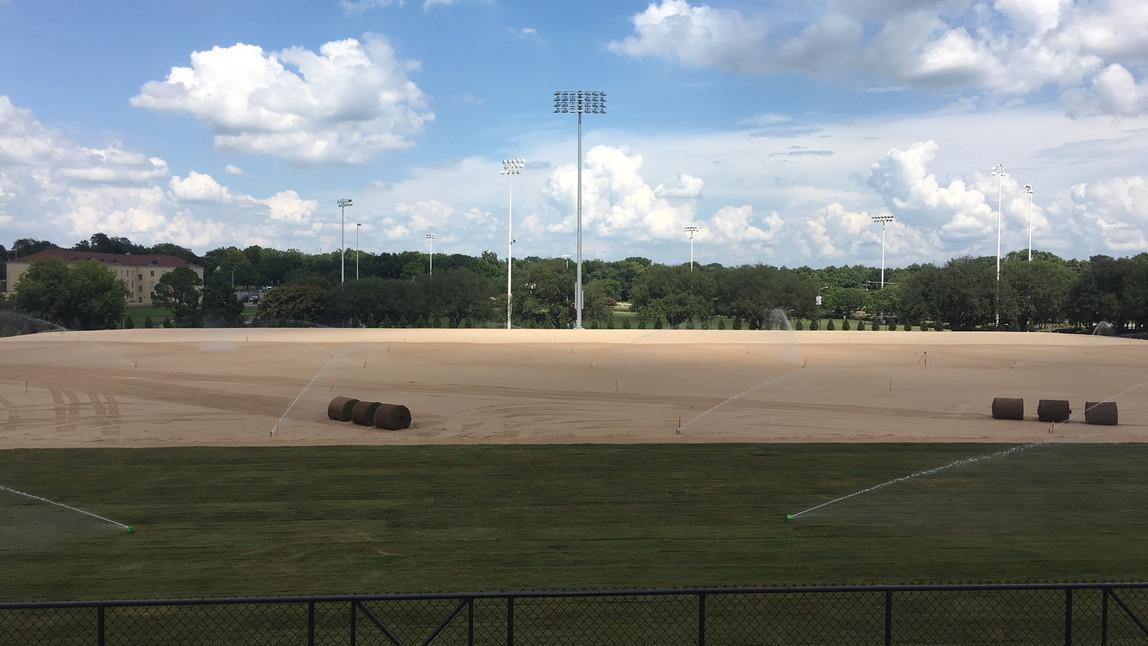 TCU Practice Field