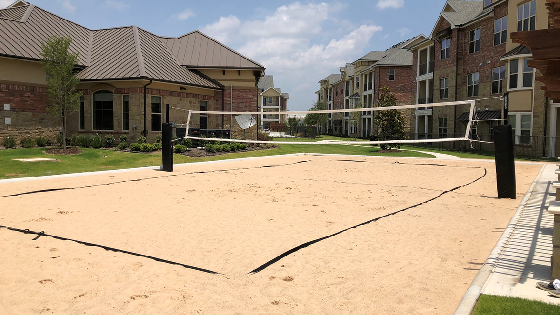 Auberge of Burleson Volleyball Court