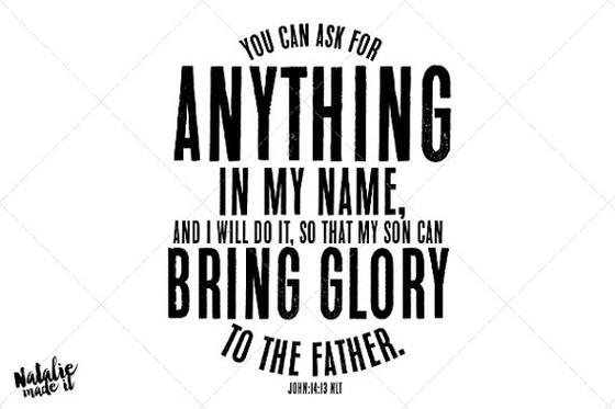 Praying His Will!
