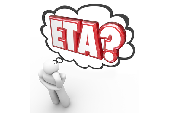 God What's Your ETA?