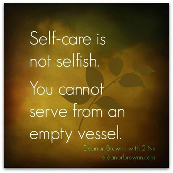 Self Care is a Must!