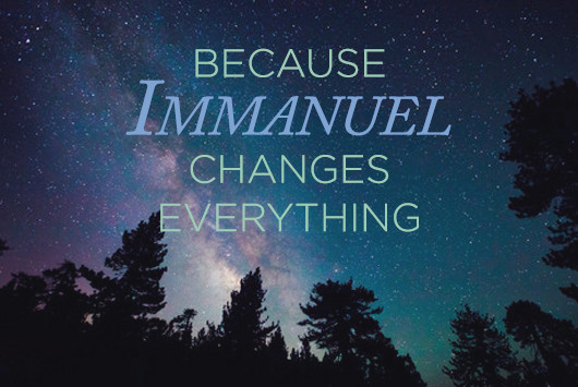 Immanuel...God is with Us