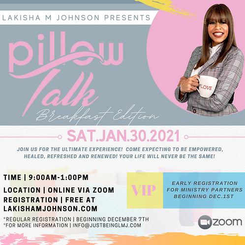 Pillow Talk: The Breakfast Edition