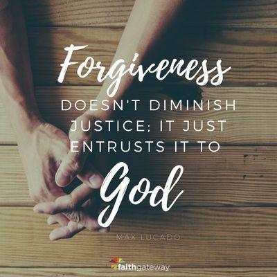 Forgiveness is Trust...