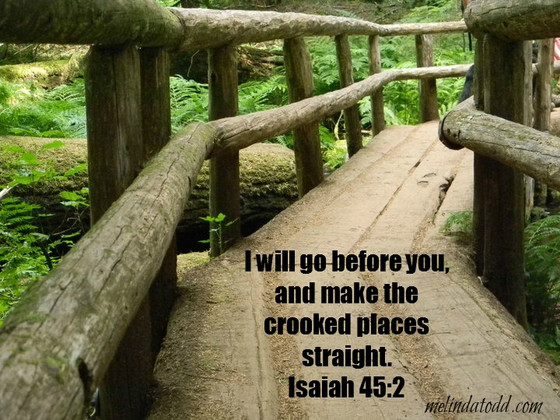 Your Crooked Places Straight...