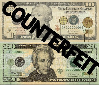 Counterfeits!