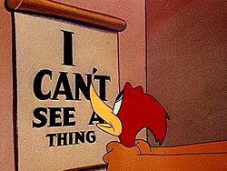 I Still Can't See!