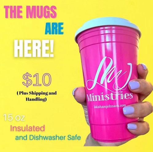 LMJ Ministries Travel Mug 15oz