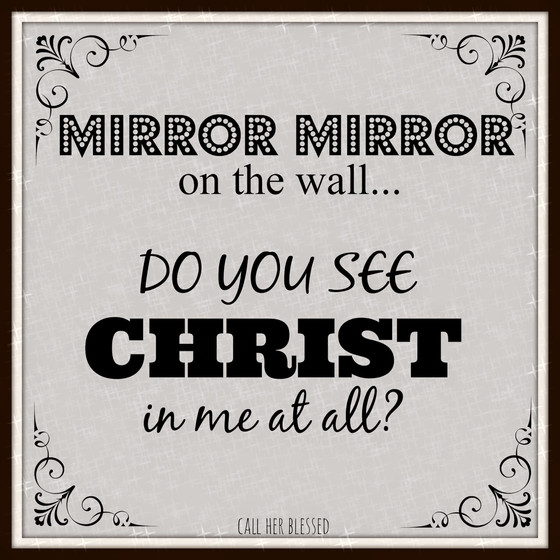 The Word is A Mirror