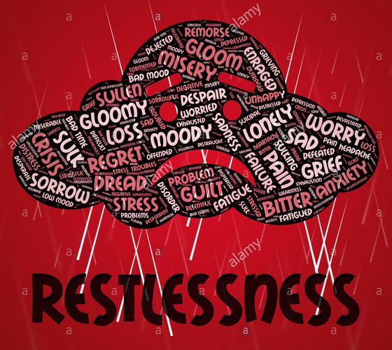 Dealing with restlessness...