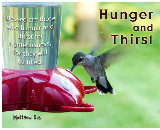 Hungry and Thirsty