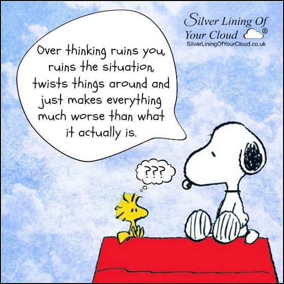 Overthinking!