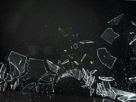 Broken Glass by C. Rose