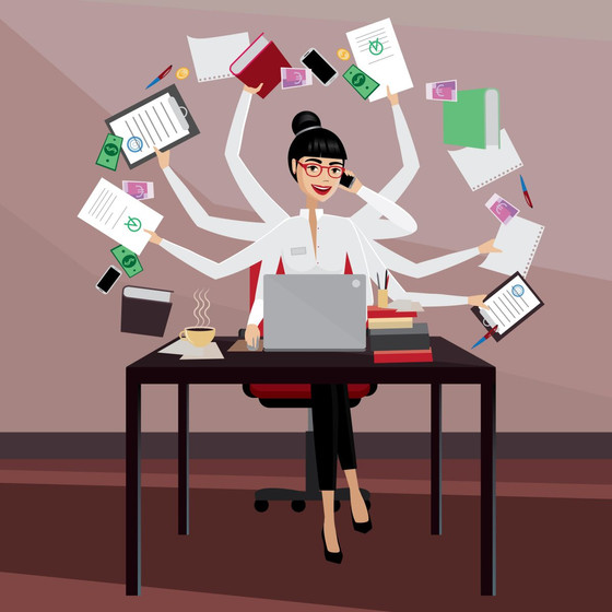 Repeat after me: I am not a Multitasker!