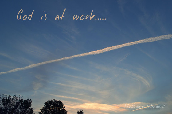 God is At Work..