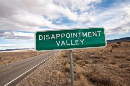 Leaving Disappointment Behind...