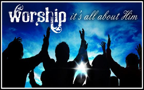 Worship deeply....