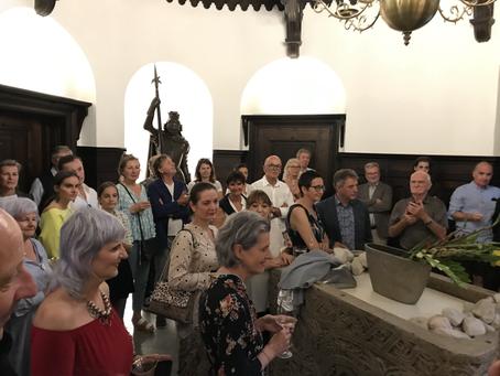 Die Kronlachners luden zum Kunstsalon an den Attersee