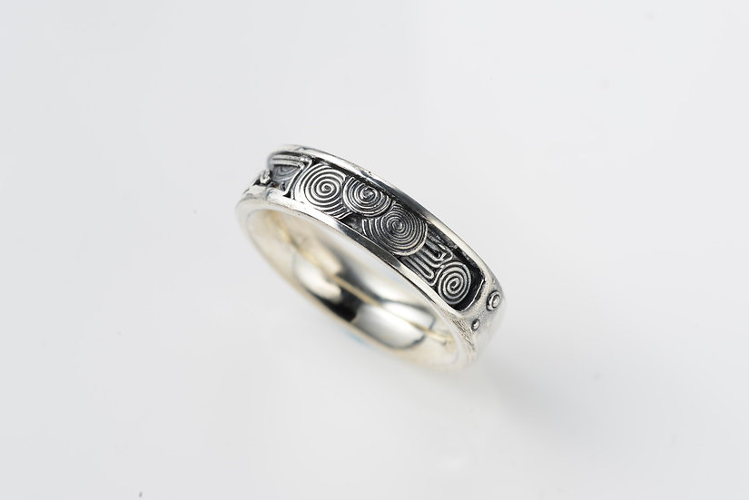 手神縄文  TEGAMI Jomon ring