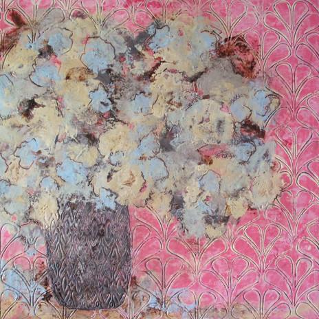 Encaustic Flower #7