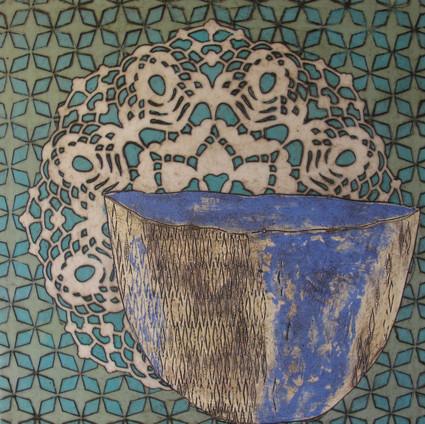 Oriental Tea Cup #13
