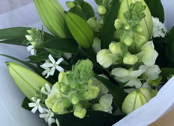 Flower Bouquet 'tutto bianco'