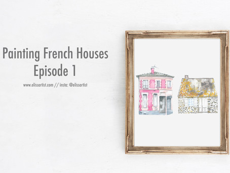 Painting French Houses