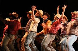 AGYG cowboy dance suprise