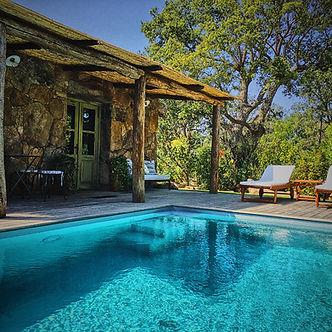 maison de vacances bergerie catalina porto-vecchio santa giulia 2 personnes piscine privee