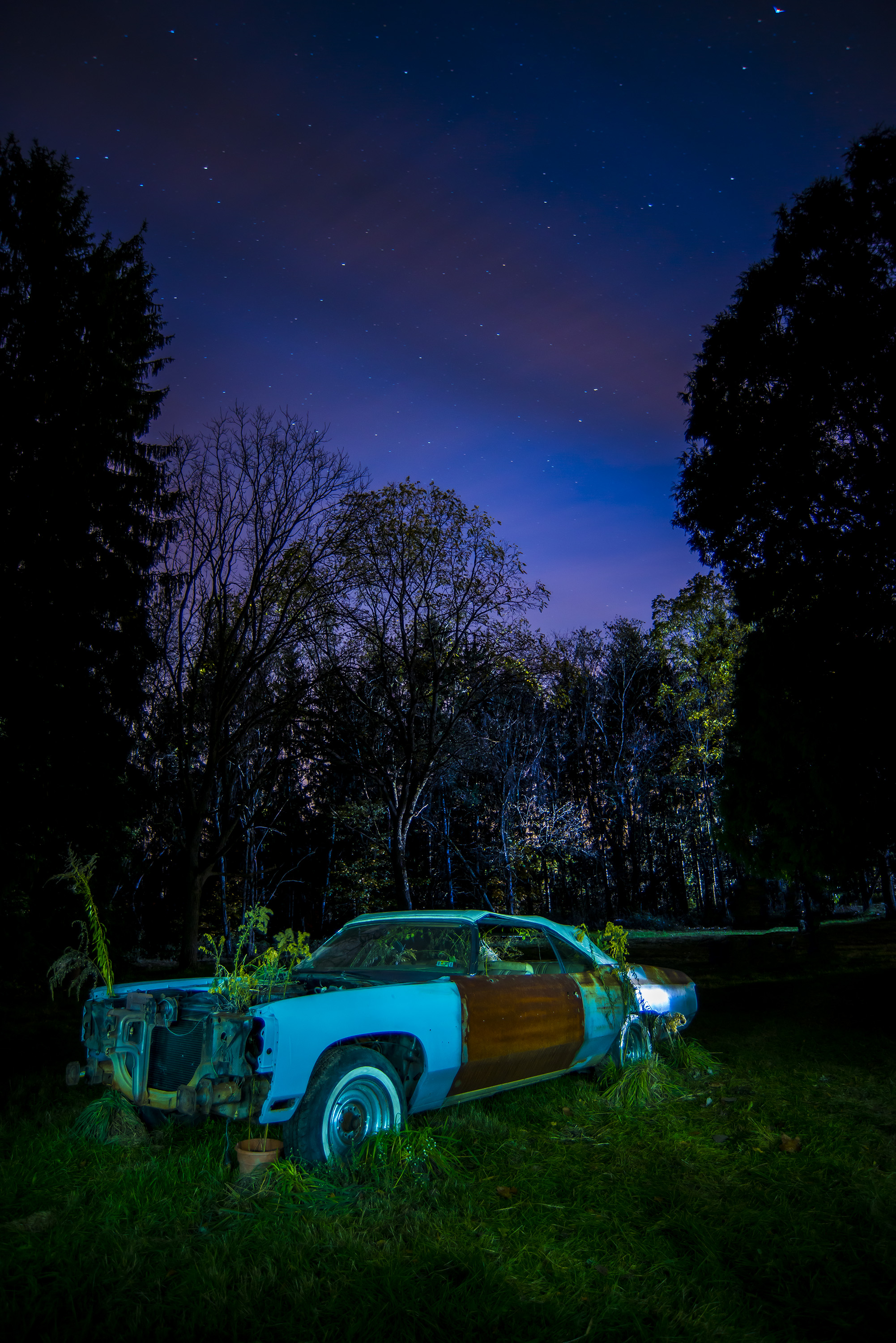 Under the Stars - 1974 Chevy Caprice