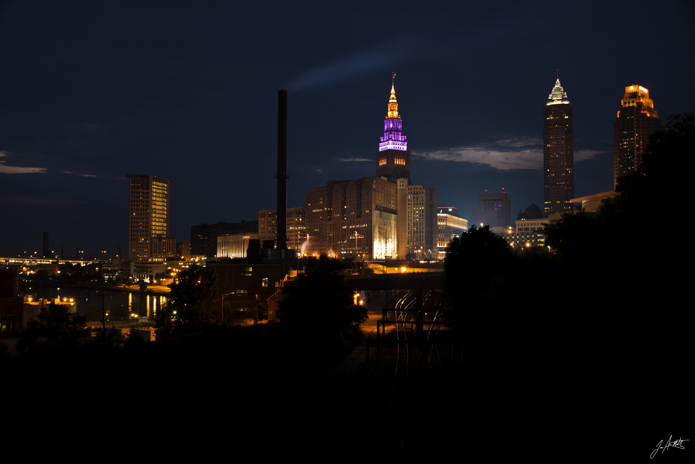Day193_Cleveland At night_July12