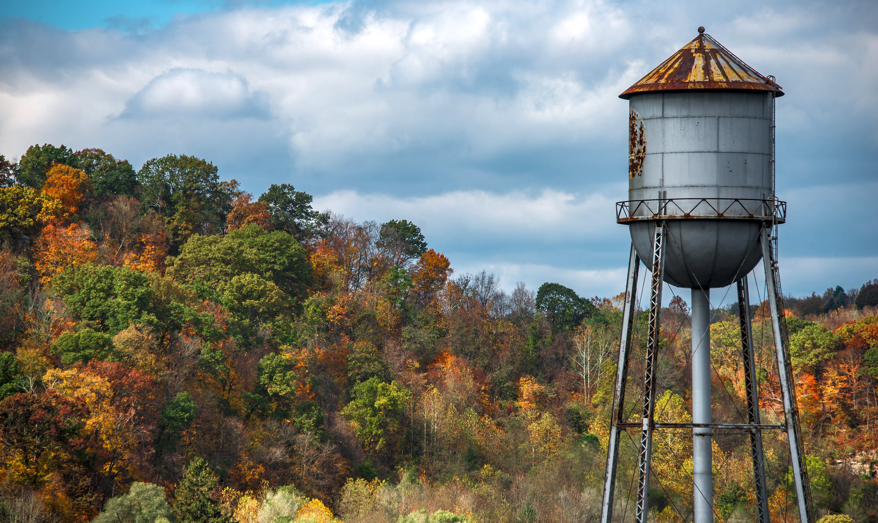 Fall Water Tower