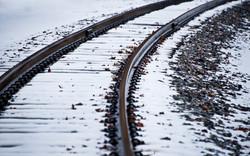 Day26_SnowOnTheRailroadTracks_January26