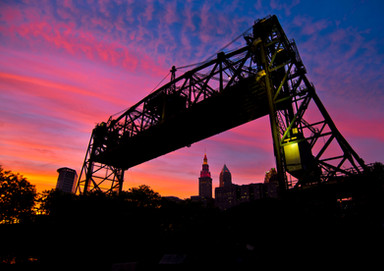 23 Red Sky Cleveland