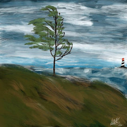 The storny Sea