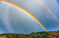 Double Rainbow Over Butler County