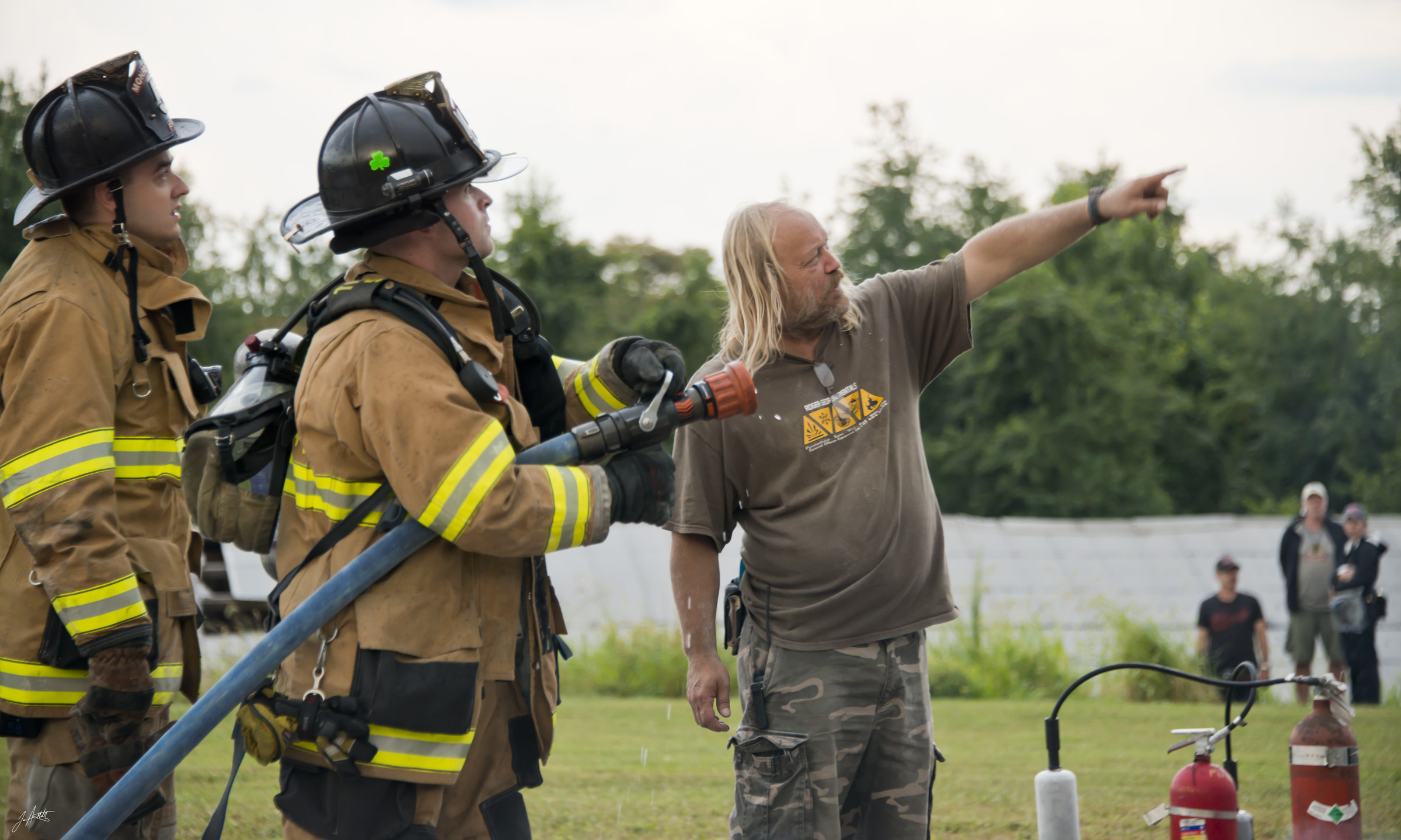 Ray and FiremenBANSHEE