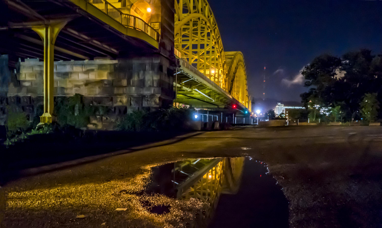 Reflecting the 16th Street Bridge